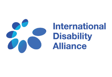 International disability alliance logo.